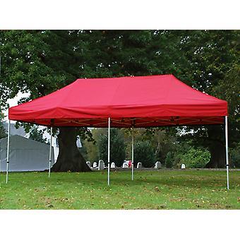 Tente pliante FleXtents PRO 3x6m Rouge