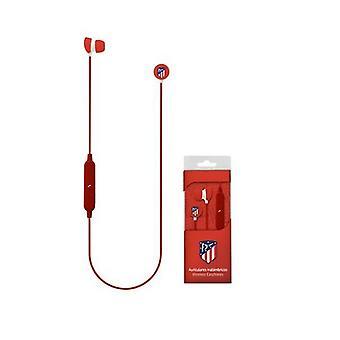 Bluetooth Sports Headset com microfone Atl tico Madrid Red