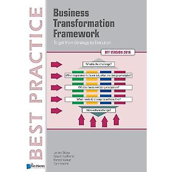 Business Transformation Framework - To Get from Strategy to Execution