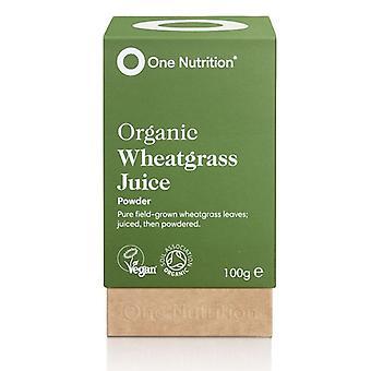 One Nutrition Wheatgrass Juice Powder 100g (ONE023)