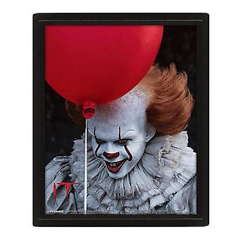 It, 3D Plate - Pennywise