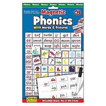 Fiesta Crafts magnetische Phonics Set