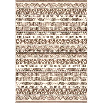 """62""""x 90""""x 0.31"""" Contemporary Driftwood Area Rug"""
