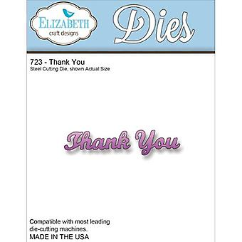 Elizabeth Craft Designs Elizabeth Craft Metal Die, Thank You