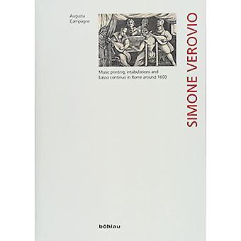 Simone Verovio - Music printing - intabulations and basso continuo in