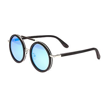 Earth Wood Bondi Polarized Sunglasses - Espresso/Blue