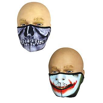 Viper TACTICAL Neoprene Half Face Mask Skull