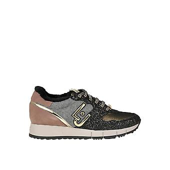 Liu Jo Ezgl060074 Women's Multicolor Fabric Sneakers