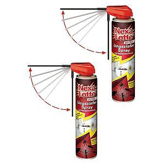 Sparset: 2 x NEXA LOTTE® Ultra Vermin Spray, 400 ml