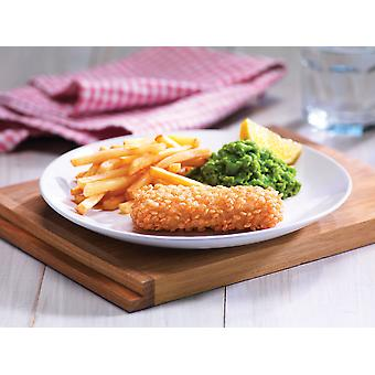 Crown Frozen MSC Gluten Free Bubble Coated Fish Fillets
