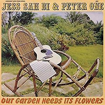 Jess Sah Bi / Peter One - Our Garden Needs Its Flowers [CD] USA import