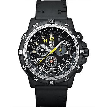 Luminox Recon Quarz schwarz Zifferblatt Gummiband Herrenuhr XL.8842.MI.SEL