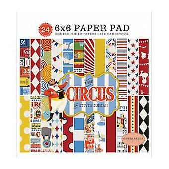 Carta Bella Circus 6x12 Pouces Accents Chipboard