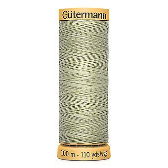 Gutermann 100% Natural Cotton Thread 100m Hand and Machine Colour Code  - 126