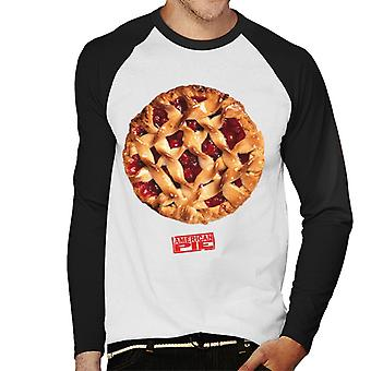 American Pie Freshly Baked Men's Baseball Long Sleeved T-Shirt