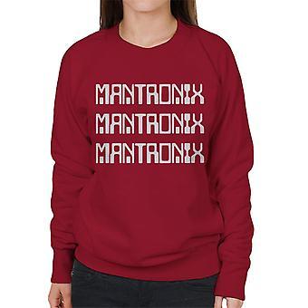 Mantronix White The Album Cover Women's Sweatshirt
