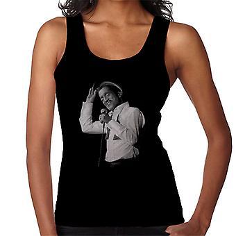 Sammy Davis Jr. synge i koncert 1982 kvinder Vest