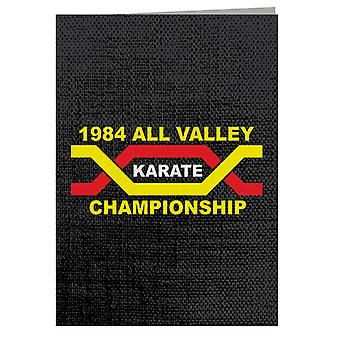 1984 All Valley Karate Kid Championship Greeting Card