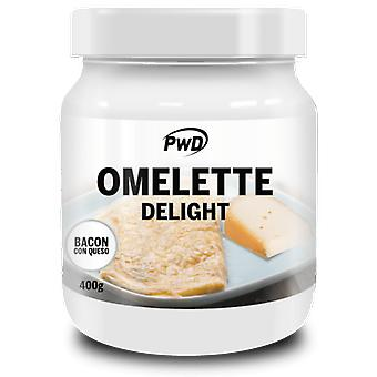PWD Nutrition Delightful Bacon Omelette with Cheese 400 gr