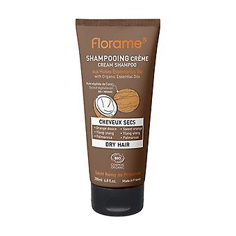 Organic dry hair shampoo 200 ml of cream