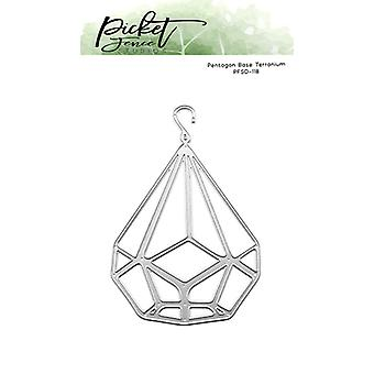 Picket Fence Studios Pentagram Base Terranium Die