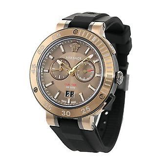Versace VECN00319 V-Extreme Cronógrafo Quartz Bronze Dial Men's Watch