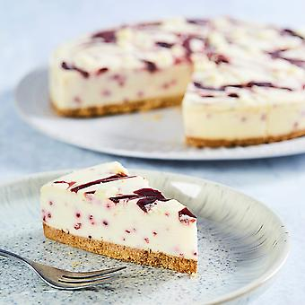 Country Range Frozen White Chocolate & Raspberry Cheesecake