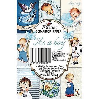 Décorer It's a Boy Paper Pack (7x10.8cm) (M50)