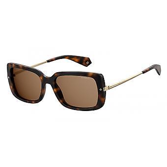 Sonnenbrille Damen  4075/S086/SP   quadratisch braun/bronze