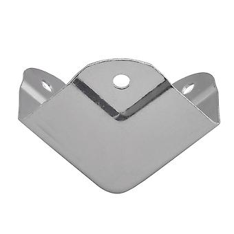Stainless Steel Corner Protectors 39mm Silver Type A