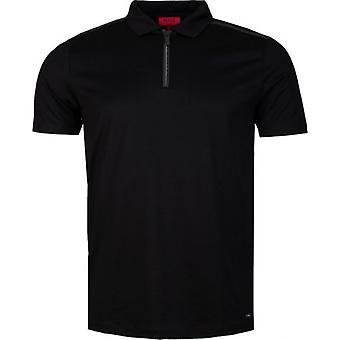 Hugo Dilvio camiseta polo con cremallera