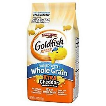 Pepperidge Farm Whole Grain Xtra Cheddar Goldfish Biscuits Snack Cuits