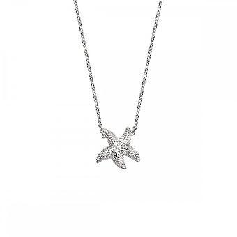 Hete diamanten sterling zilver grote eeuwige liefde ketting DN132