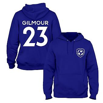 Billy Gilmour 23 Chelsea Style Player Football Hoodie