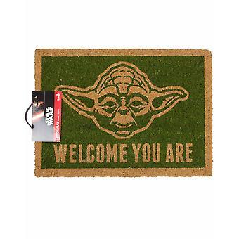 Star Wars Tervetuloa Olet Yodan ovimatto | Viralliset kauppatavarat