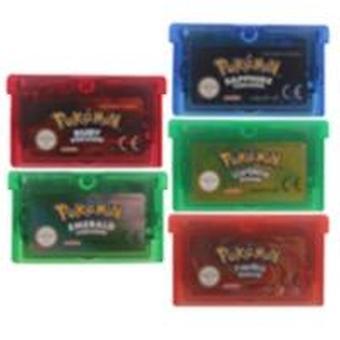32-bittinen videopelipatruunakonsolikortti - Poke Series Eng/fra/gre/esp/ita