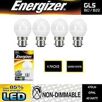 4 Packs van Boxed Energizer High Tech LED-lampen - Niet-dimbaar - GOLF B22 OPAL