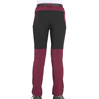 Winter Women Hiking Pants, Softshell Trousers For Camping Ski Climbing