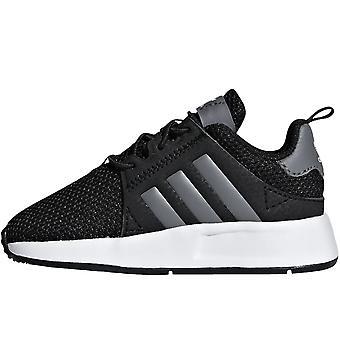 adidas Originals Kids Junior X_PLR Casual Fashion Trainers Sneakers - Core Black