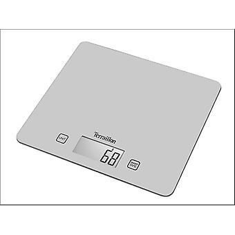 Terraillon Digital Kitchen Scales Silver 5kg T1040S