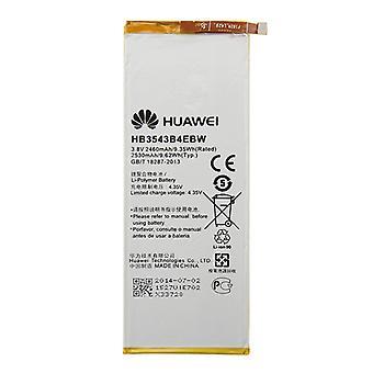 Original 2460mAh Rechargeable Li-Polymer Battery for Huawei Ascend P7