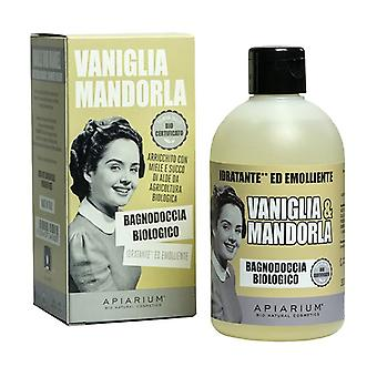 Organic Vanilla and Almond Body Wash 300 ml of gel