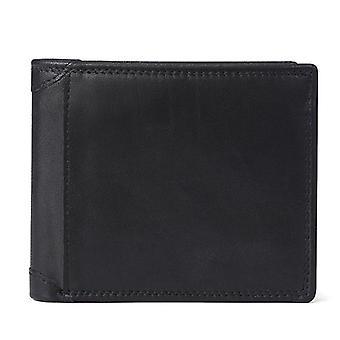 ekte ku skinn menn lommebøker med mynt lomme vintage mannlige vesken & kort