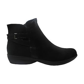 Karen Scott Womens Vanni Fabric Closed Toe Ankle Fashion Boots