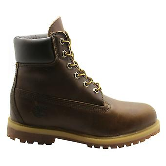 Timberland 6 Zoll Premium Lace Up braun Leder Casual Womens Stiefel 8232A B72D