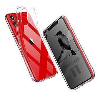Coque Pour Iphone 11, Housse De Protection En Silicone De Haute Qualité, Transparent