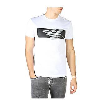 EA7 - Bekleidung - T-Shirts - 3HPT48_PJT3Z_1100 - Herren - white,black - S