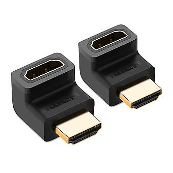 Ugreen 20110p hdmi interface cable and adapter black pack of 2