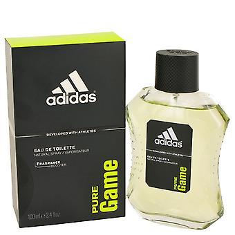 Adidas Pure gra przez Adidas Woda toaletowa Spray 3,4 uncji/100 ml (mężczyźni)