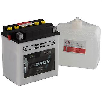 intAct CB10L-A2 Classic Bike-Power Battery With Acid Pack